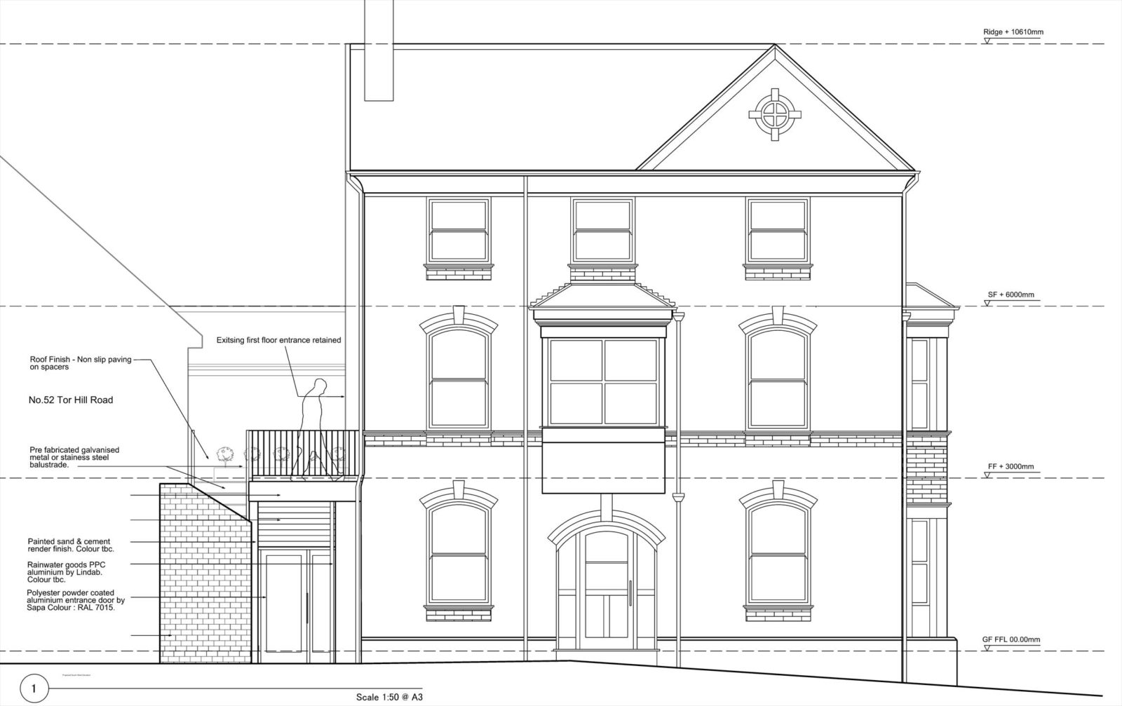 RSA commissioned to design new Quaker building Torquay – Rud Sawers Architects, Devon