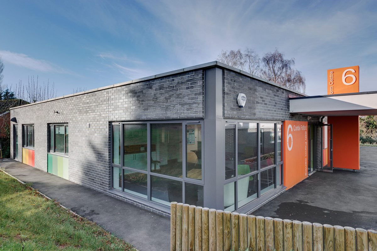 Combe Pafford Sixth Form – Rud Sawers Architects.