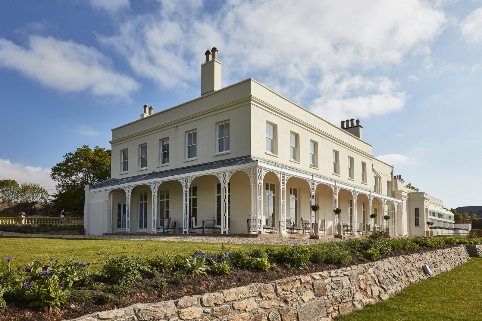 Lympstone Manor receives Honourable Mention in Devon Historic Buildings Trust Awards – Rud Sawers Architects, Devon