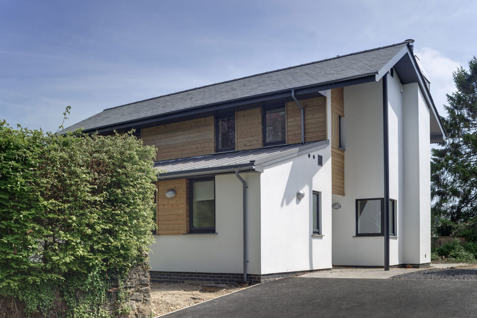 Orchard Lea completes on site – Rud Sawers Architects, Devon