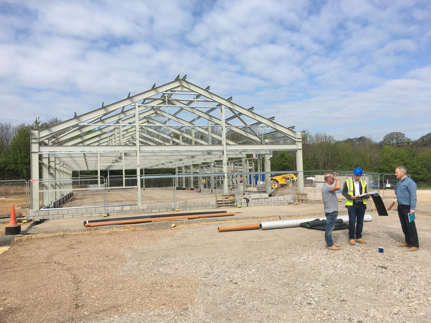 Endsleigh starts on site – Rud Sawers Architects, Devon