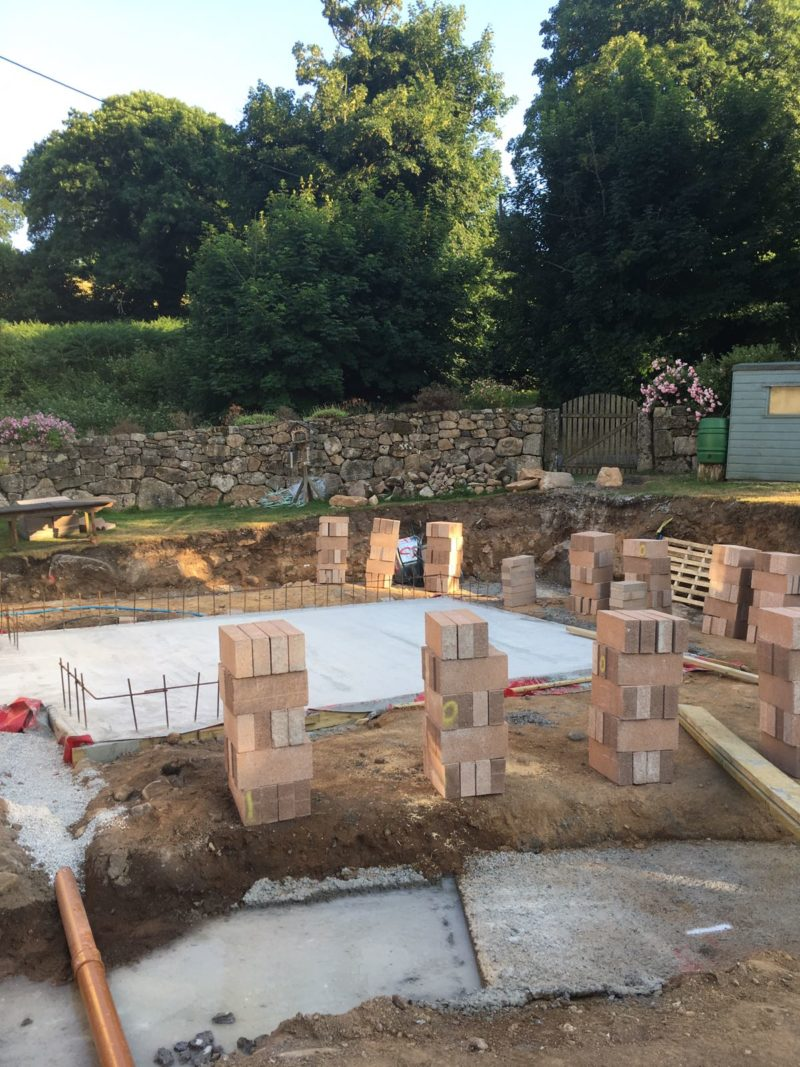 Leigh House starts on site – Rud Sawers Architects, Devon