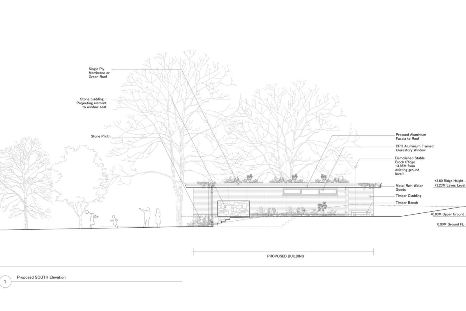 Contemporary residence 'Driftwood' submitted for Planning – Rud Sawers Architects, Devon