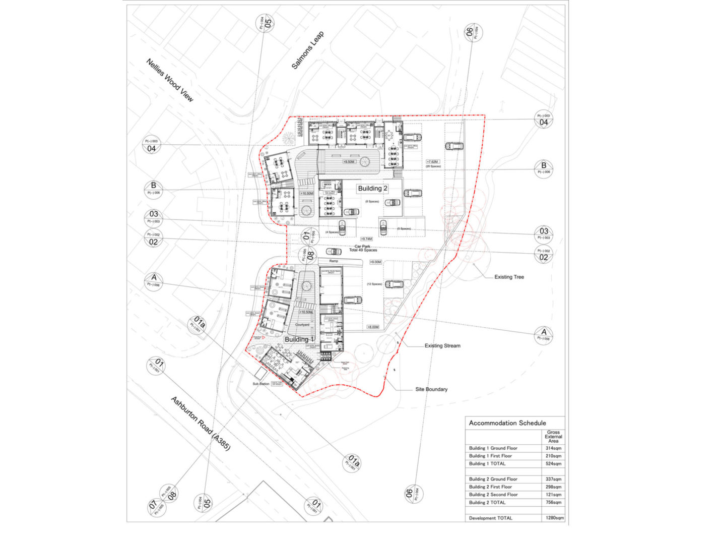 Puddavine Yard – Detailed design underway – Rud Sawers Architects, Devon