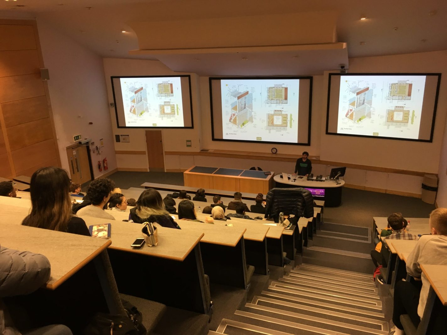 Rud Presents lecture at Manchester University School of Architecture – Rud Sawers Architects, Devon