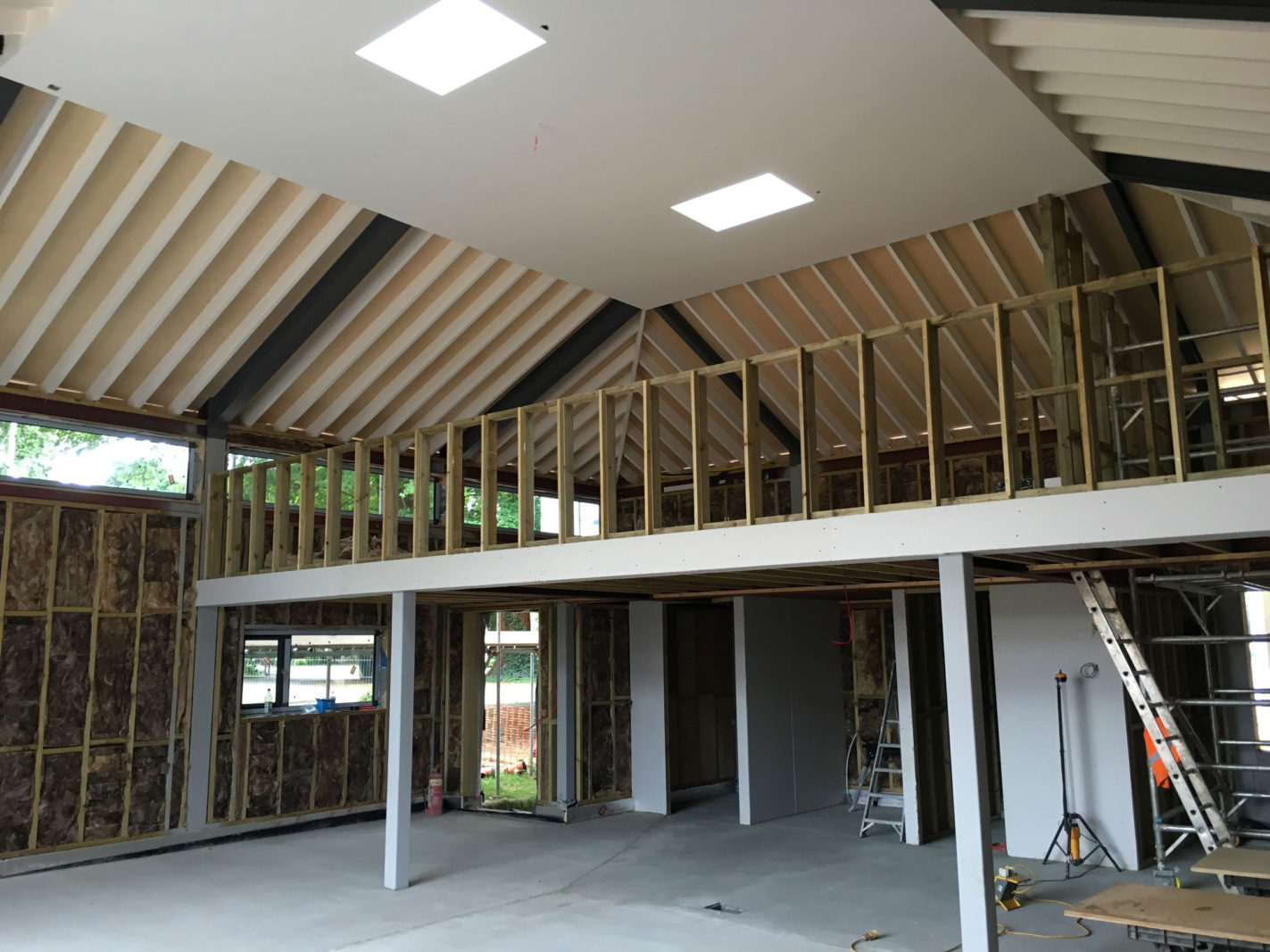 Kings College Taunton nears completion on site – Rud Sawers Architects, Devon
