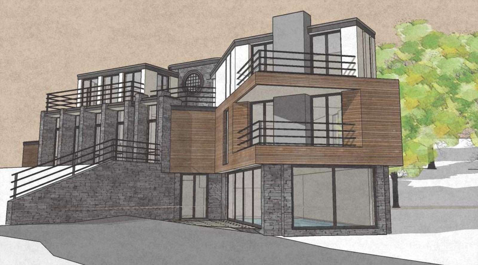 RSA engaged to design cost efficiencies to new build house at Furze Park. – Rud Sawers Architects, Devon