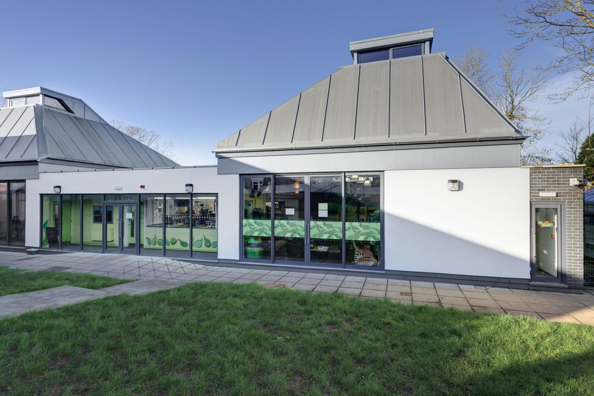 Combe Pafford Wildlife Cafe – Rud Sawers Architects.