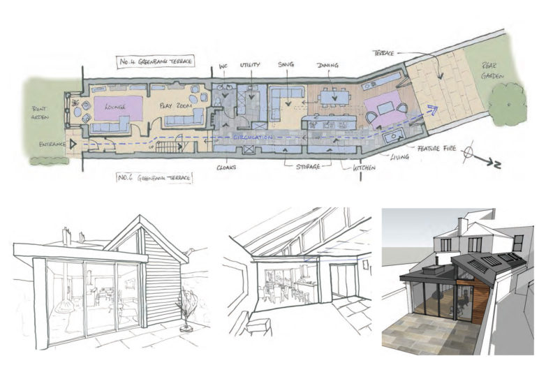 RSA appointed as Architects for house extension in Yelverton – Rud Sawers Architects, Devon
