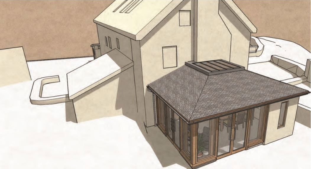 Leigh House Submitted for Planning – Rud Sawers Architects, Devon