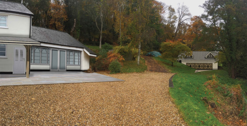 Slowpool continues well on site – Rud Sawers Architects, Devon