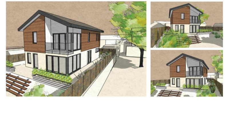 Starcross residential project submitted for Planning – Rud Sawers Architects, Devon