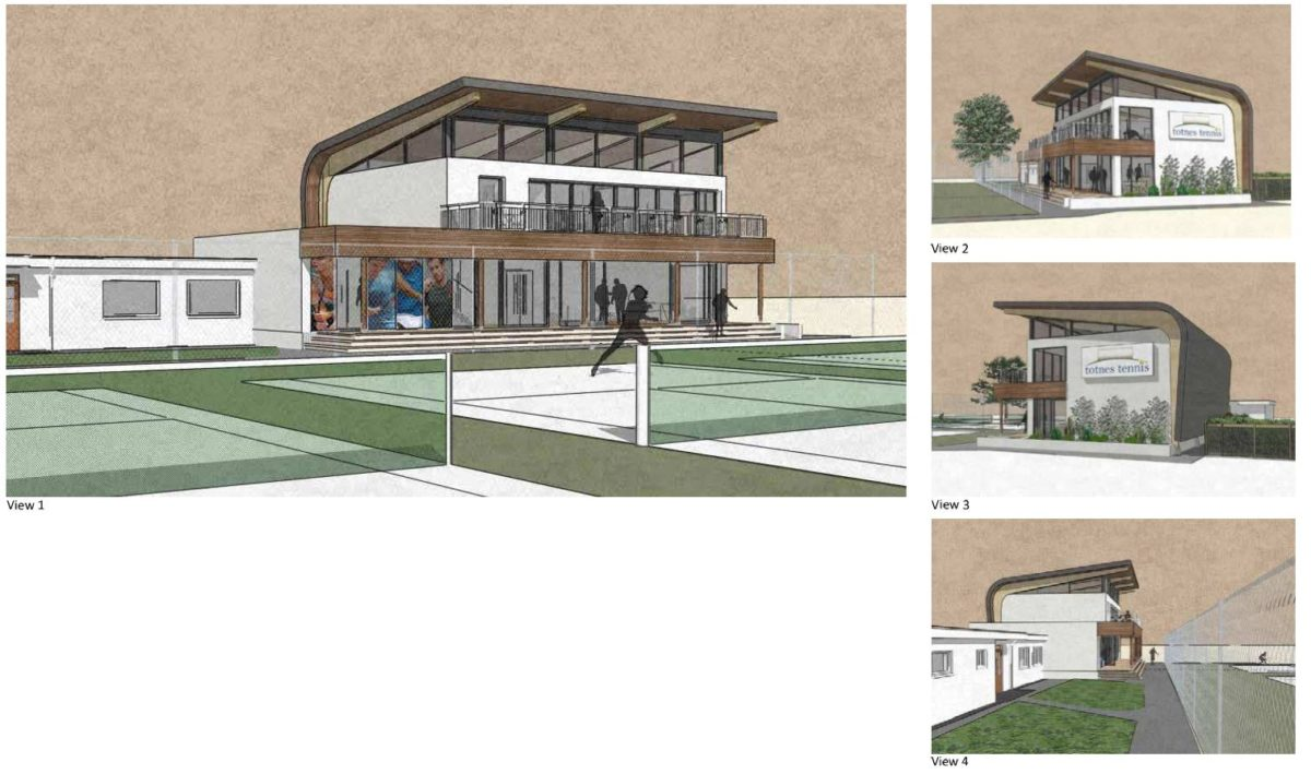 Totnes Tennis Club – Rud Sawers Architects.